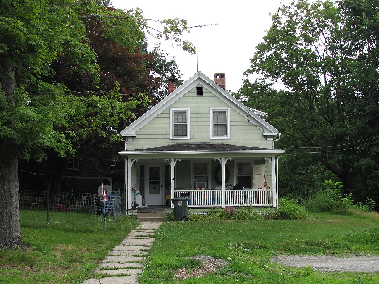 Px Frances H And Jonathan Drake House C Leominster Ma on Building A Zip Line