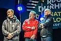 Francis Joyon, Lionel Lemonchois, Loick Peyron Route du Rhum 2014 3.jpg