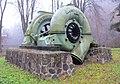 Francis turbine, small hydropower station in Spalov (1).jpg