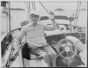 Campobello Island - Franklin D. Roosevelt on Campobello Island (1933)