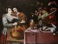 Frans Ykens - A gentleman courting a maid.jpg