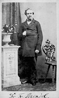 Franz Brendel German music critic