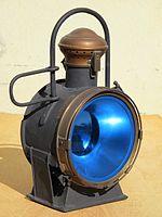 French steam locomotive oil headlight.jpg