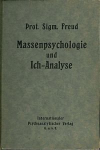 Group Psychology and the Analysis of the Ego cover
