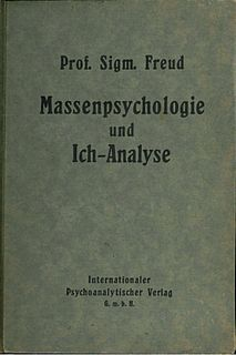 <i>Group Psychology and the Analysis of the Ego</i> literary work