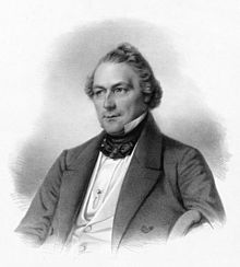 Friedrich Wilhelm Jähns, 1850 (Quelle: Wikimedia)