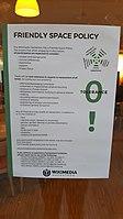 Friendly Space Policy - Wikimedia Hackathon 2017 - shot.jpg