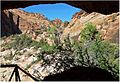 From the Cave, Zion N.P., Canyon Overlook Trail 4-30-14r (14104276429).jpg