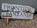 Frontier Tanzania sign.JPG