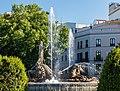 Fuente de Neptuno, Plaza de Cánovas del Castillo, Madrid, España, 2017-05-18, DD 35.jpg