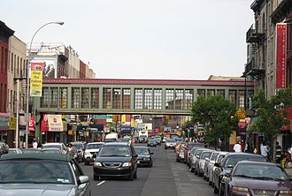 Fulton Street (Brooklyn) - Fulton Mile shopping district at Franklin Avenue
