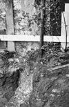 fundering van een dwarsmuurtje onder de westmuur van de oostvleugel( het verbrede zuidelijke gedeelte daarvan) - amersfoort - 20009556 - rce