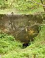 Góraszka, Regelbau 501, Ściana tylna, wejście do schronu.JPG