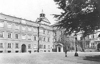 John Frederick, Duke of Pomerania - Residence in Stettin (1939), rebuilt by Johann Friedrich in 1577