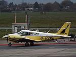 G-BZRO Piper Twin Comanche (22626041798).jpg