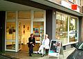 GEDOK NiedersachsenHannover e.V. Galeriebüro Sohnreystraße 20 Hannover Südstadt Karin Hess Erika Klee Zinnober-Kunstvolkslauf 2012.jpg