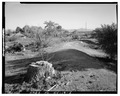 GENERAL VIEW, SHOWING FORMER RESERVOIR - Kiel Ranch, 200 West Carey Avenue, North Las Vegas, Clark County, NV HABS NEV,2-NOLAV,1-5.tif