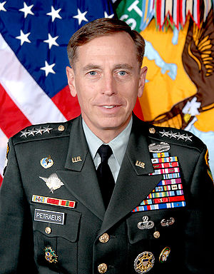 Official photograph of General David H. Petrae...