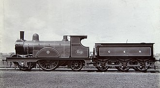 GER Class D27 - GER 1000, the first of the 1893 batch