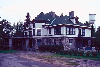 National Register of Historic Places listings in Lewis County, New York - Image: GOULD MANSION COMPLEX