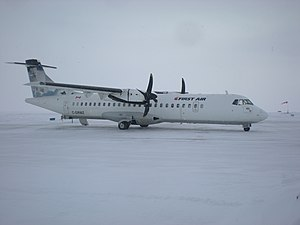 First Air - First Air ATR 72 at Cambridge Bay Airport