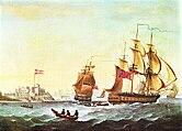 Két brit rabszolgahajó, amelyeket George Webster festett