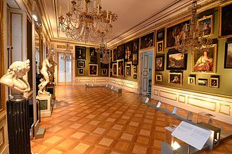 Łazienki Palace - Paintings gallery
