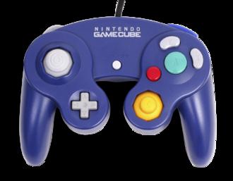 GameCube accessories - Purple GameCube controller