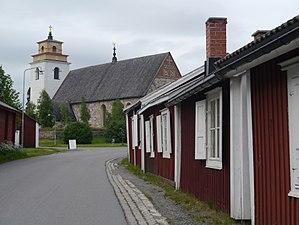 Gammelstad Church Town - Image: Gammelstad Gammelstad 04