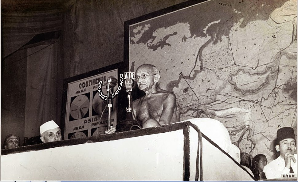 Gandhi at the Asian Relations Conference