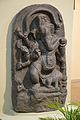 Ganesha - Black Stone - Circa 11th Century CE - Giriyak - Bihar - ACCN 3921 - Indian Museum - Kolkata 2015-09-26 3910.JPG
