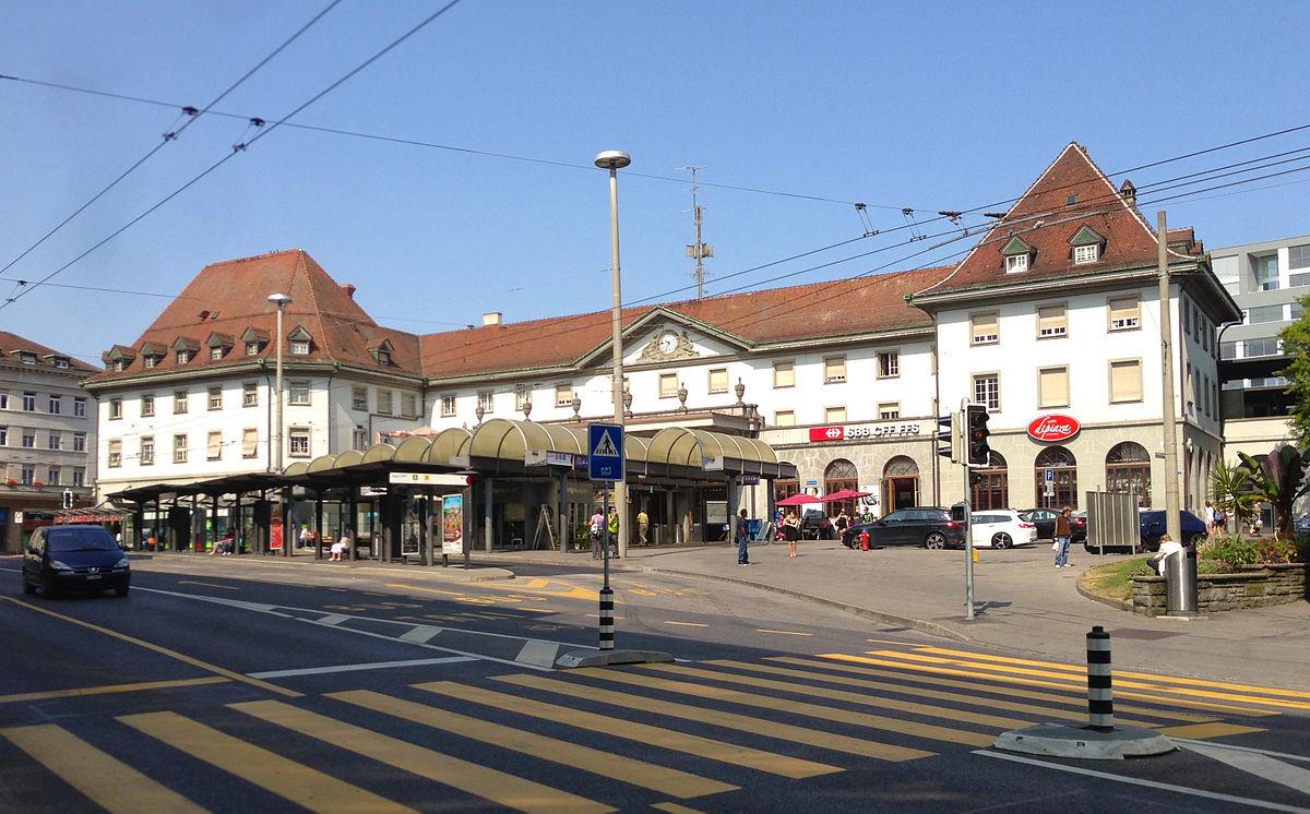 Fribourg railway station Wikipedia