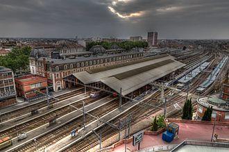 Gare de Toulouse-Matabiau - Trainshed and platforms