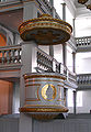 Garnisons Kirke Copenhagen pulpit.jpg