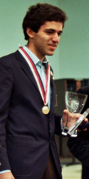 Garry Kasparov - Kasparov becomes World Junior Champion at Dortmund in 1980