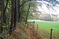 Gate on the 1066 Country Walk - geograph.org.uk - 1576644.jpg