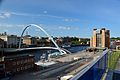 Gateshead Millennium bridge & BALTIC art gallery, 14 June 2012.jpg