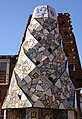 Gaudi's chimneys 14, Palau Guell, Barcelona (IMG 5430a).jpg