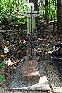 Gdańsk cmentarz Srebrzysko – Lech Bądkowski.JPG