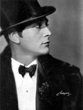 Gösta Ekman (senior) - As Danilo in The merry Widow, 1931