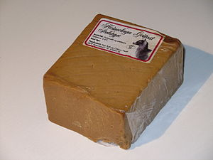 Whey cheese - Geitost cheese is prepared using leftover whey