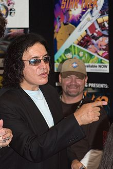 Gene Simmons during Comic-Con International 2007 in San Diego, California.