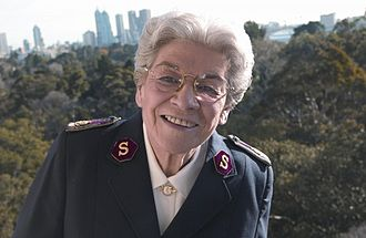 Christianity in Australia - Eva Burrows was the 13th General of the Salvation Army (worldwide leader).