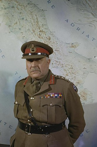British contribution to the Manhattan Project - Field Marshal Sir Henry Maitland Wilson, a British representative on the Combined Policy Committee