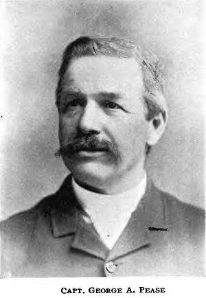 George Anson Pease - Image: George A. Pease (steamboat captain)