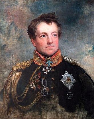 August Neidhardt von Gneisenau - Gneisenau by George Dawe, 1818