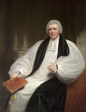 George Henry Law - Bishop Law by William Beechey