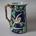 George Jones c. 1870 bird jug, naturalistic style.jpg
