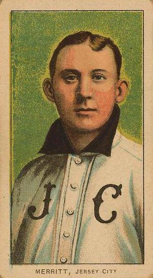 George Merritt (baseball) - Image: George Merritt