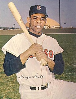 George Smith (second baseman) second baseman in the Negro leagues and in Major League Baseball (1963-1966)